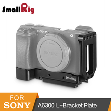 SmallRig A6300 L-Bracket for Sony A6300 Camera L Plate Quick Release Mounting Plate Arca-type Side Plate And Base Plate Kit-2189
