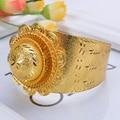 NEW Ethiopian Eritrea Wedding Bangle Trrendy 24k Gold Plated African Ethiopia Bride Habesha style 2017