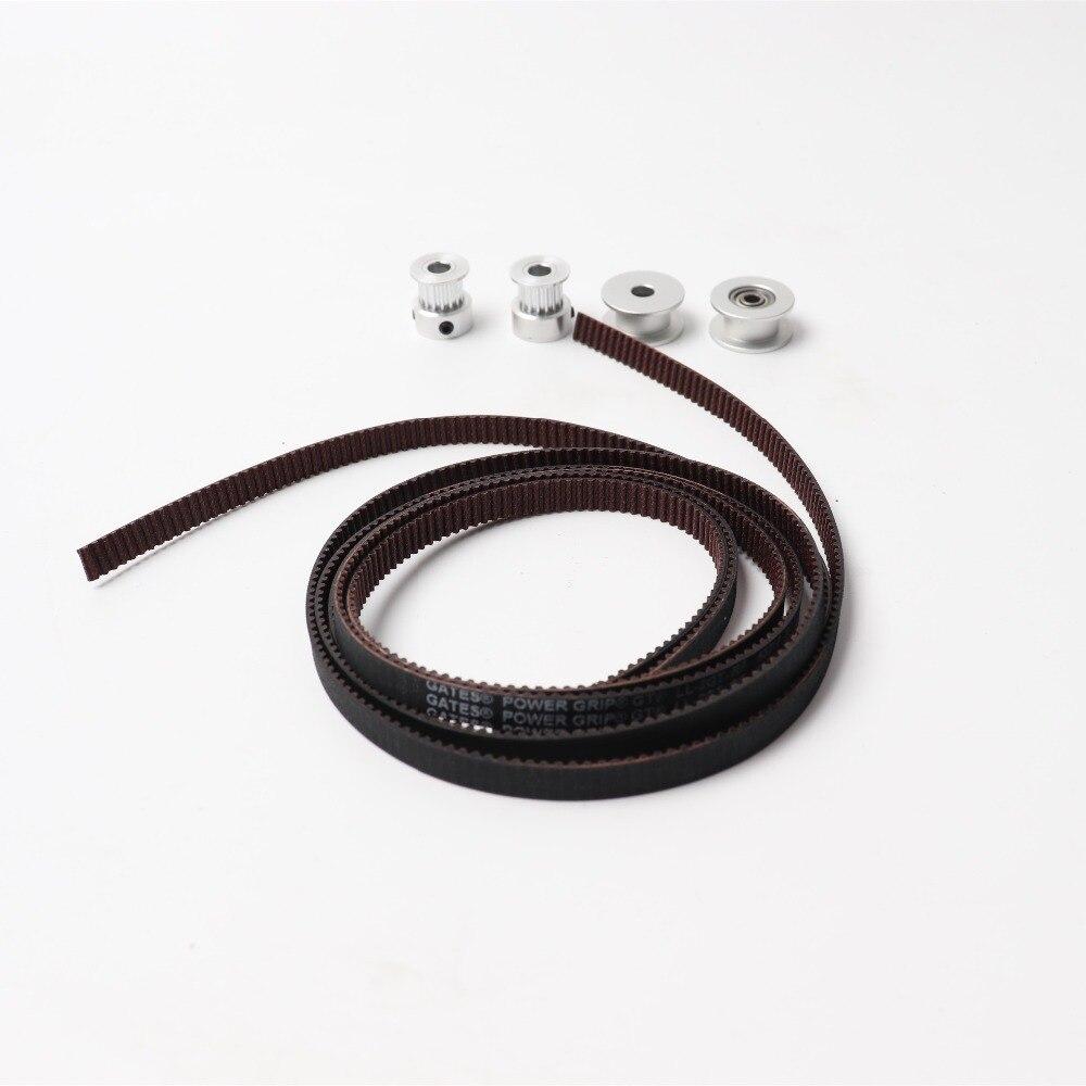 Prusa i3 MK2S/MK3 3d drucker pulley, 2GT zähne pulley, x/Y achsen zahnriemen GATES-LL-2GT synchron gürtel GT2 Breite 6 MM