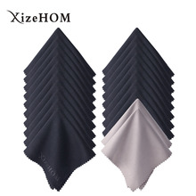 Купить с кэшбэком XizeHOM 15*18cm/20pcs Microfiber Glasses Cleaning Cloth