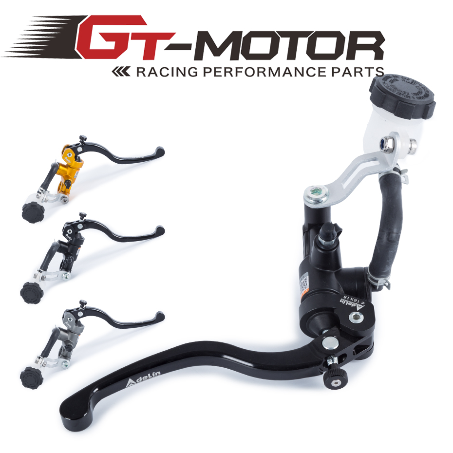 GT Motor Free Shipping Motorcycle 19X18 16X18 Brake Adelin Master Cylinder Hydraulic FOR Honda