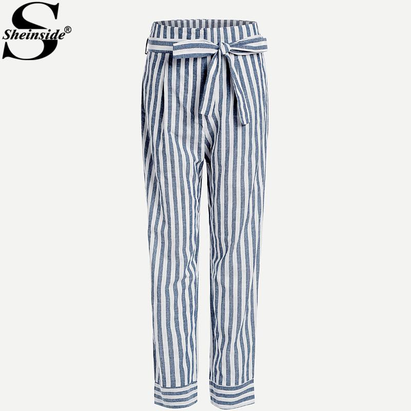 HTB1bhZEalUSMeJjSspfq6x0VFXaa - Striped Pants With Bow PTC 208