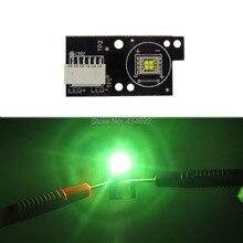 Светодиодные лампы COB высокой мощности, 30 Вт, зеленые, 140 Нм, 6-8 в, 4 а, лм, угол обзора градусов для светодиодной лампы головного света