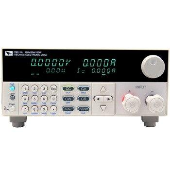 Aidetek ITECH IT8511 + 120 V/30A/150 W carga electrónica DC programable de un solo canal