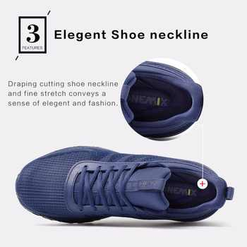 ONEMIX Running Shoes Men High Top Sports Shoes Male Soft Windproof Sneakers For Outdoor Walking Jogging Trekking Shoes Size 47
