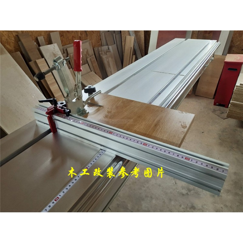 800mm Aluminium Profile 75mm Height With T-tracks For Woodworking Workbench DIY Modification