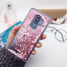Love Heart Glitter Case for Samsung S7 edge S6 S8 S9 plus A3 A5 A7 2017 Dynamic Liquid Quicksand Back Cover For Samsung C5 C7 C9 for samsung galaxy s7 edge s8 s9 j7 c5 c7 c8 c9 c10 j2 pro a5 a7 a8 2018 plus j7max hard case 3 in 1 full back case