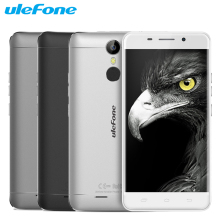 Original Ulefone Metal Mobile Phone 3G RAM 16G ROM MTK6753 Octa Core 5.0 inch Android 6.0 Camera 13.0MP Fingerprint Smartphone