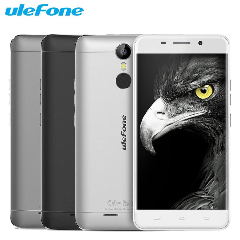 Ulefone Original de Metal Teléfono Móvil 3G RAM 16G ROM MTK6753 Octa Core 5.0 pu