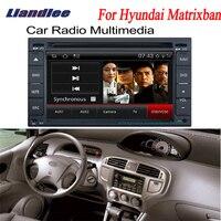 Liandlee 2 дин андроид gps навигатор Карты для hyundai Матрица 2004 ~ 2010 радио CD DVD плеер Аудио Видео Стерео OBD2 ТВ