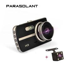 PARASOLANT 4 «Full HD 1080p видеорегистратор Двойная камера автомобильный видеорегистратор 170 градусов широкоформатный регистратор ночного видения камера заднего вида регистратор автомобильный