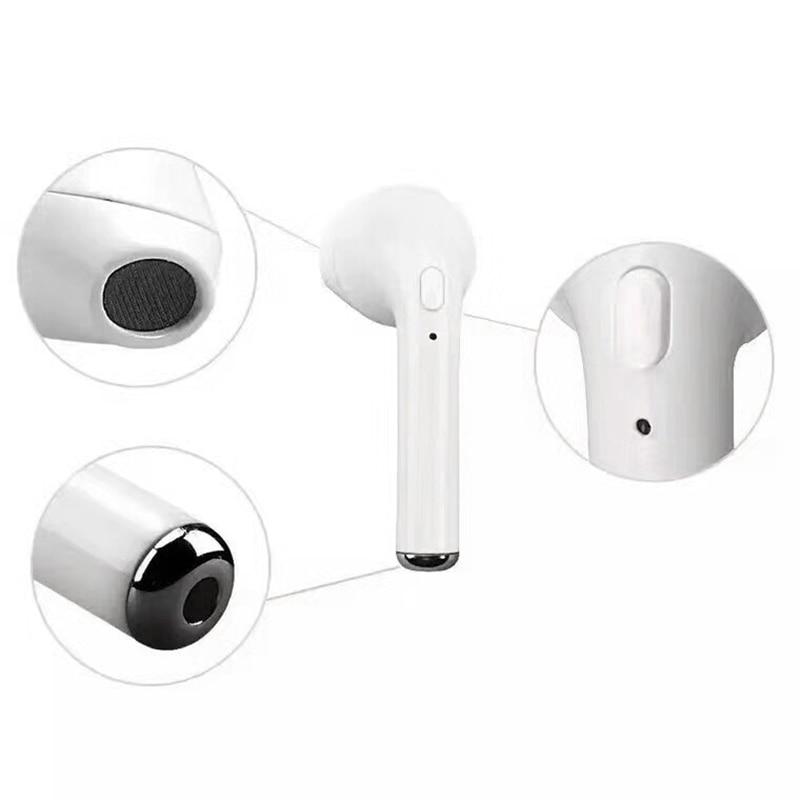 -Вкладыши Bluetooth наушники одного уха мини-Беспроводной наушник беспроводные наушники стерео спортивные наушники гарнитура для телефона iPhone