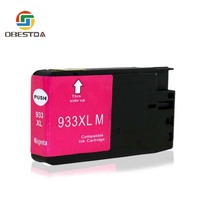hp officejet Compatible Ink Cartridge Replacement For HP 932 XL 933 XL for Officejet 6100 6600 6700 7110 7510 7610 7612 Printers (3)