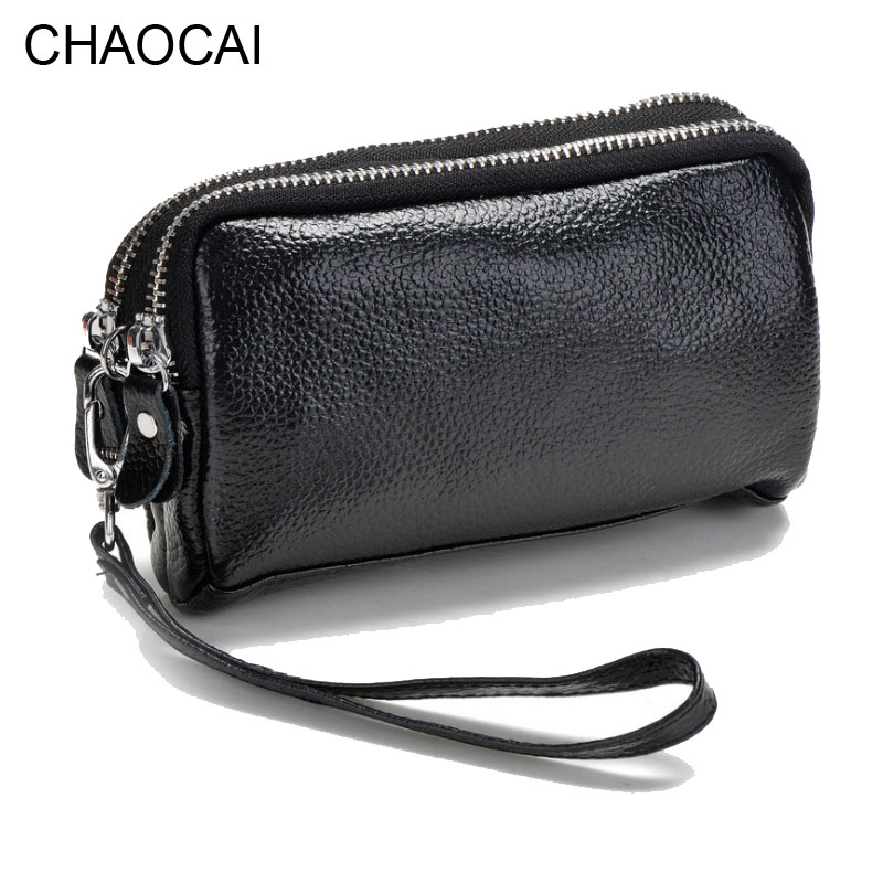 fashion women wallets genuine leather wallet small double zipper bag multifunctional Wallet girl cowhide mini purse female simline fashion genuine leather real cowhide women lady short slim wallet wallets purse card holder zipper coin pocket ladies