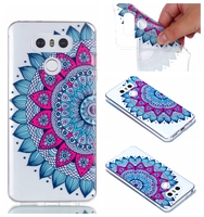 Slim Soft TPU Case For LG G6 G 6 LGG6 5.7 inch Butterfly Flowers Datura blossom Silicone Back Cover Skin Mobile Phone Cases