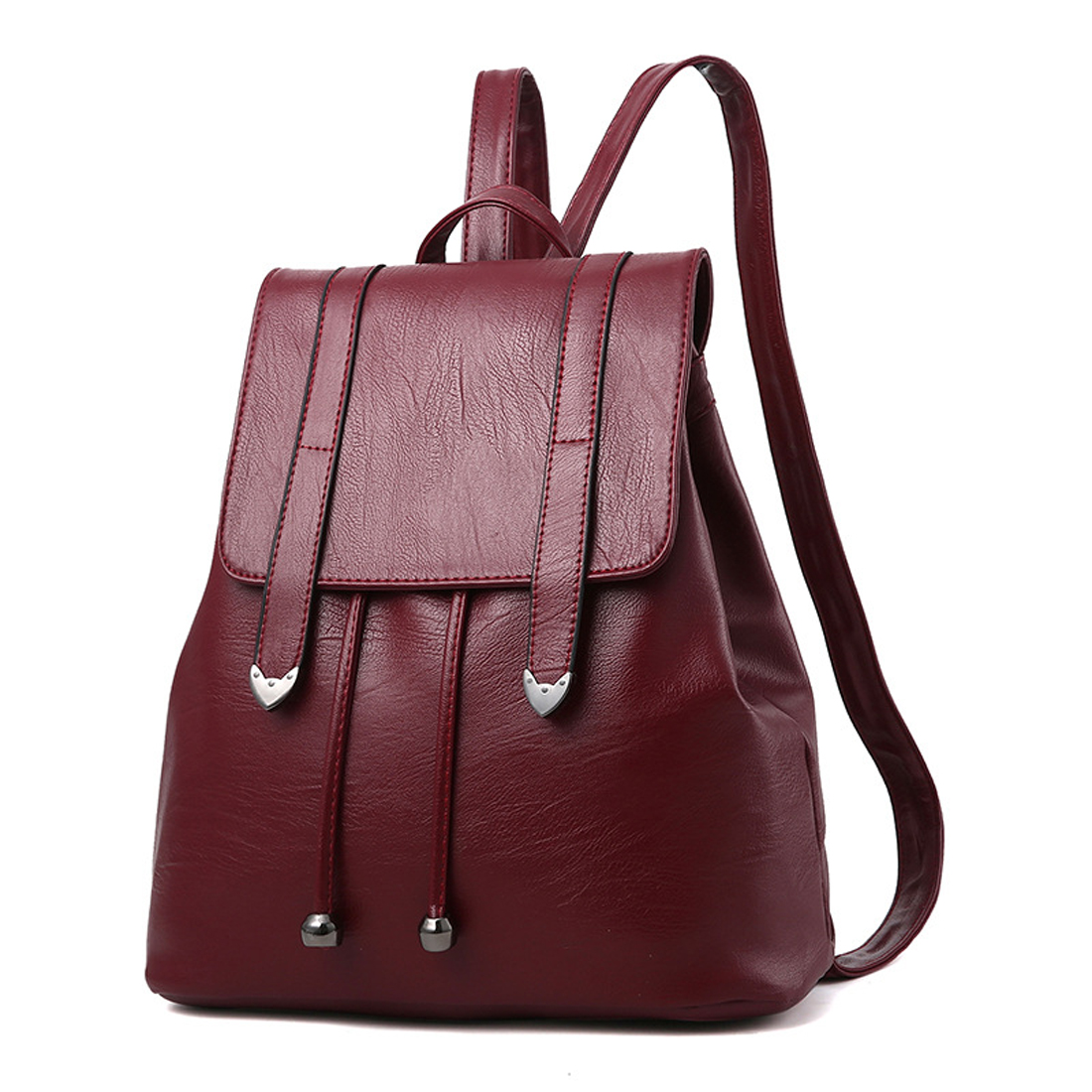 SFG HOUSE PU Leather Backpack Fashion Women 2017 Travel Bags Girls Students School Bags Ladies Shoulder