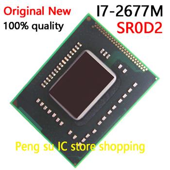 100 nowy I7-2677M SR0D2 I7 2677M BGA chipsetu tanie i dobre opinie Kamery Kamery lustra Działania Kamery Wideo Inny Aparat Akcesoria Zestawy none Pakiet 1