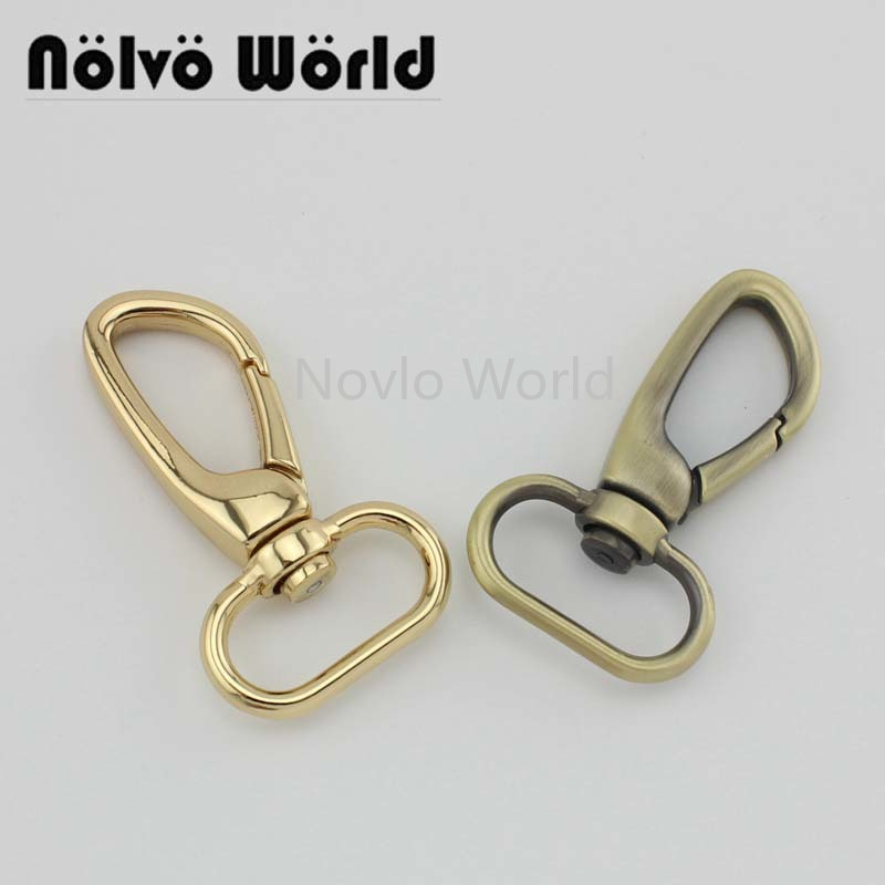 4 pieces test, 57*25mm small quantity  metal strap buckle for bags, dog collar lobster clasp swivel snap hook accessories()