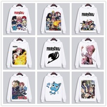 Men women Hoodies Anime FAIRY TAIL Harajuku lovely lovers Clothing Unisex Adults Casual Clothes Sweatshirt Hoodie Tops cosplay