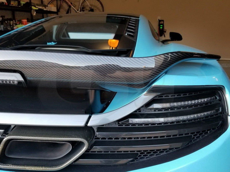2011-2014 McLaren MP4-12C Coupe & Spyder Vorsteiner V-MC AERO Style Rear Spoiler Wing CF (41)