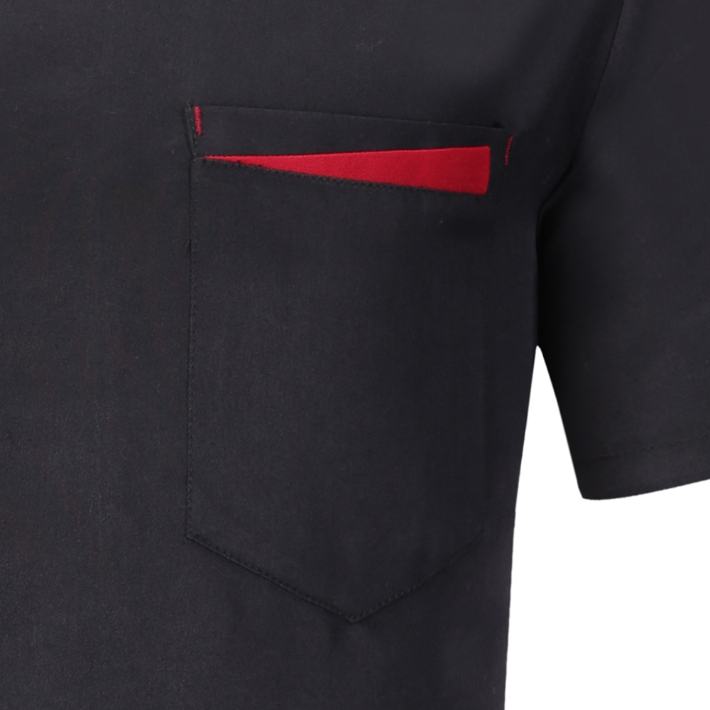Ultimate SaleJacket Shirt Apron Hat Chef-Uniform Short-Sleeved Kitchen-Work-Clothes Cooking High-Quality