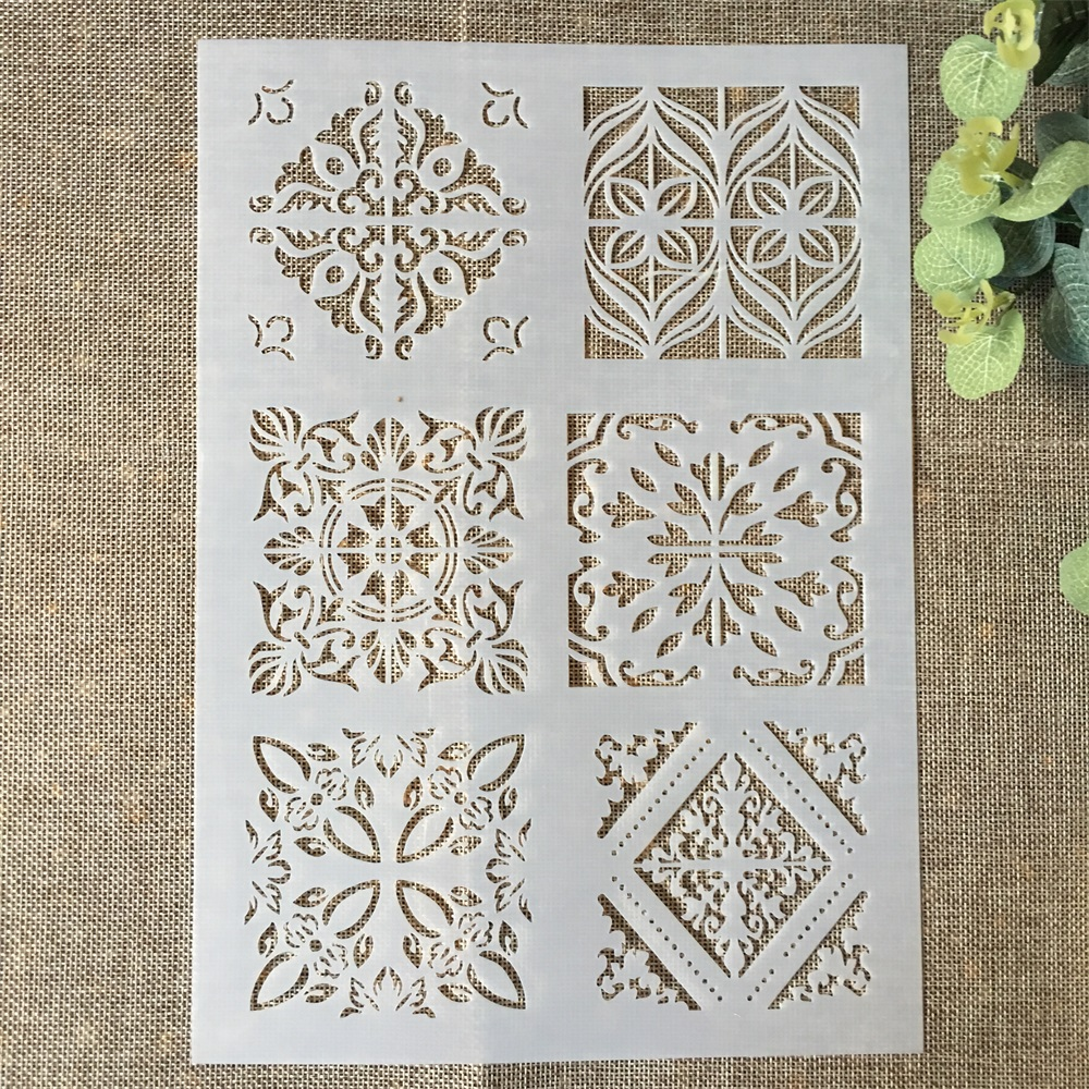 29*21cm Frame Square DIY Layering Stencils Wall Painting Scrapbook Coloring Embossing Album Decorative Paper Card Template