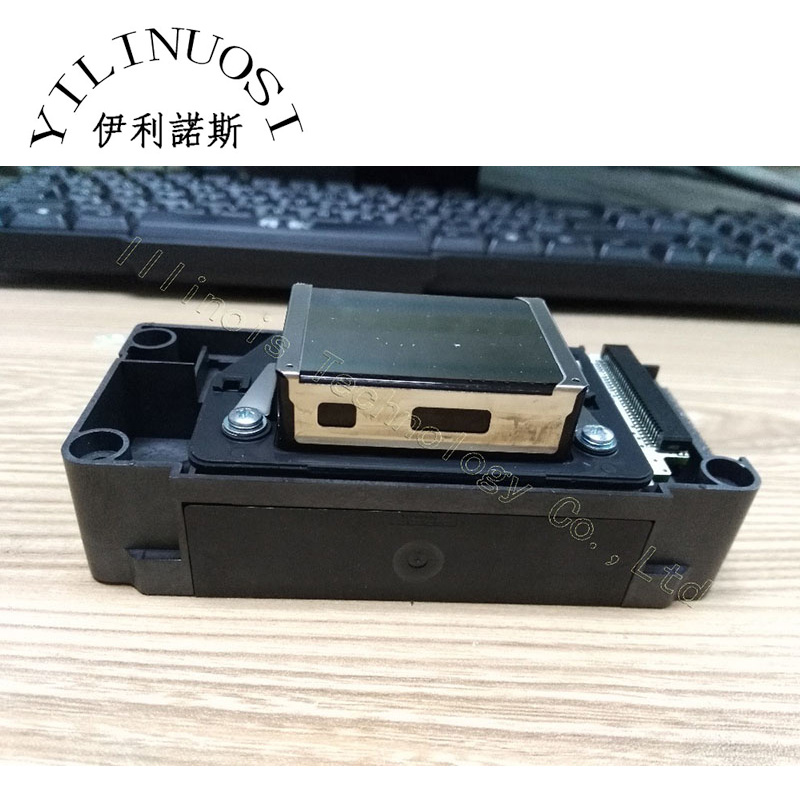 DX5 eco-solvent printhead for F186000 solvent gold head Double coded Secondary lock Secondary encryption printer parts permanent roland xj 640 xj 740 eco solvent chips 6pcs set cmyklclm printer parts