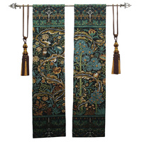 Belgium jacquard tapestry the sitting room mural cloth art William morrisThe tree of life one pair GT SMS108