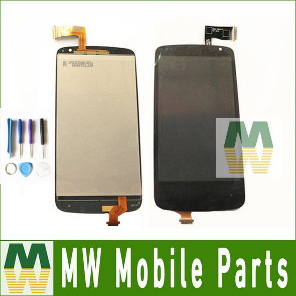 Black Color For HTC Desire 500  LCD Display +Touch Screen Assembly  Digitizer 1PC /Lot  with tools