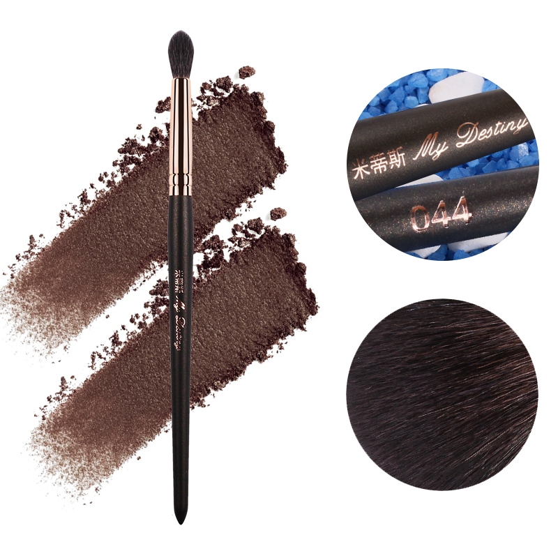 MY DESTINY Goat Hair Small Eyeshadow Eye Blending Brush Pędzel do makijażu Pędzle do makijażu Pincel Maquiagem Pinceaux de Maquillage 044