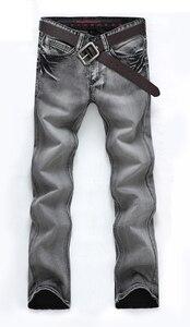 Image 3 - AIRGRACIAS классические мужские джинсы ретро ностальгия прямые джинсы мужские размера плюс 28 38 мужские длинные брюки брендовые байкерские джинсы
