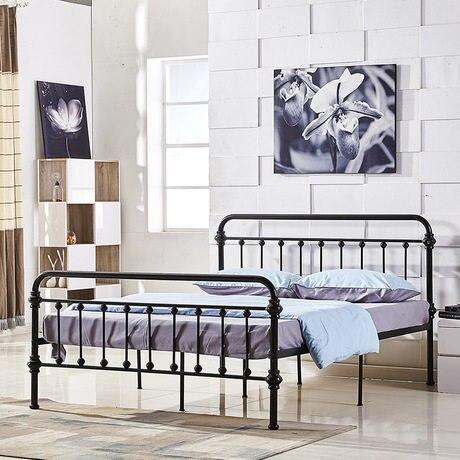 Tienda Online Camas Muebles para el hogar hierro cama/cama doble ...