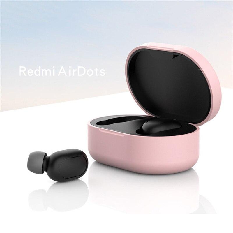 Новое поступление силиконовый защитный чехол для наушников для Xiaomi Redmi Airdot TWS Bluetooth наушники модная версия беспроводной - Цвет: Type-C