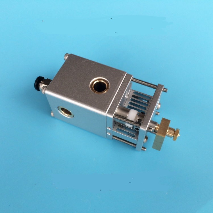 NEW Ultimaker 2+ UM2 3D printer all metal aluminum alloy printing hotend 1.75/3mm changable Olsson block nozzle kitNEW Ultimaker 2+ UM2 3D printer all metal aluminum alloy printing hotend 1.75/3mm changable Olsson block nozzle kit