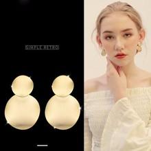 Gold Water Drop Earrings for women brincos 2018 Fashion Jewelry Pendientes Indian Jewelry Long Earrings N35