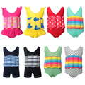 Baby Swimwear Infant Floating Buoyancy Swimsuit Girl bikini Boys Bathing Suit Toddler Swim Diaper Vest Swimming Training Suit