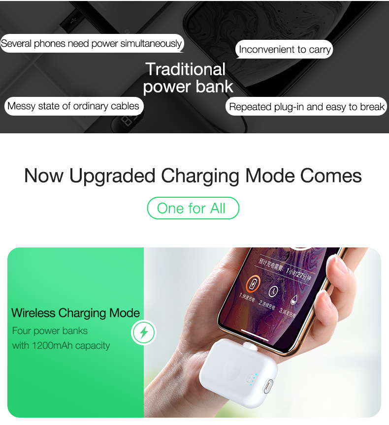 Magnetic Wireless Power Bank Portable Charger External Battery (3)