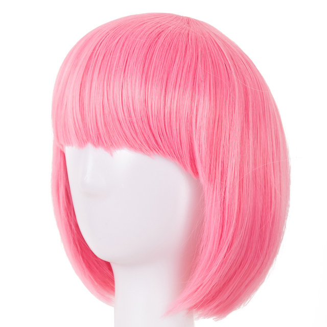 Synthetic Heat Resistant Short Hair