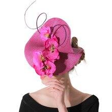 Украшение Morning glory фиолетовые коктейльные церковные вуалетки аксессуары заколка для волос женский головной убор шпилька черные вечерние головные уборы