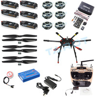 Tarot 2.4G 10CH RC Hexacopter Drone 960mm X6 Folding Retractable Frame 5008 Motors PIX PX4 M8N GPS ARF/PNF DIY Unassembly Kit