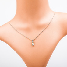 Sweet Romantic Japanese and Korean New Fashion Small Animal Pendant Kitten Silver Gold Necklace Female Je