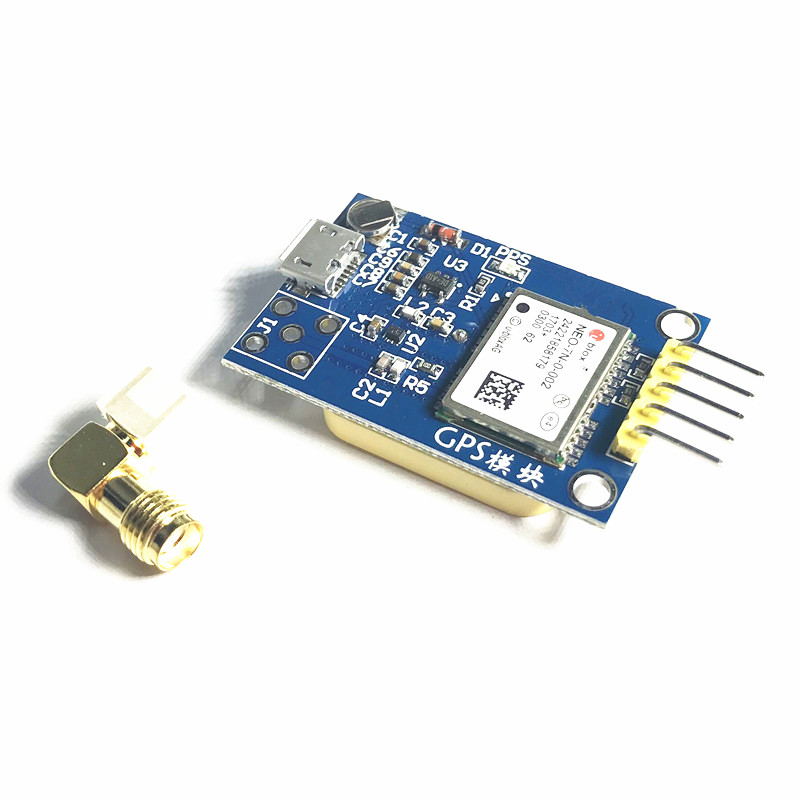 1PC GPS module NEO-7N instead of NEO-6M UBLOX satellite positioner navigation for Arduino/STM32/51