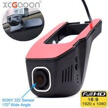 XCGaoon Wi Fi автомобиля регистратор DVR Цифрового Видео регистраторы видеокамера тире камера 1080 P Ночь Версия Novatek 96655, Cam может вращаться
