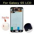 El 100% nuevo reemplazar la pantalla lcd táctil digitalizador asamblea para samsung galaxy s5 g900 lcd