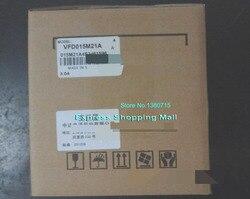 VFD015M21A Вход 1ph 220V Выход 3ph инвертор Vfd015m21a 0 ~ 240V 7A 0,1 ~ 400 Гц 1.5KW 2HP