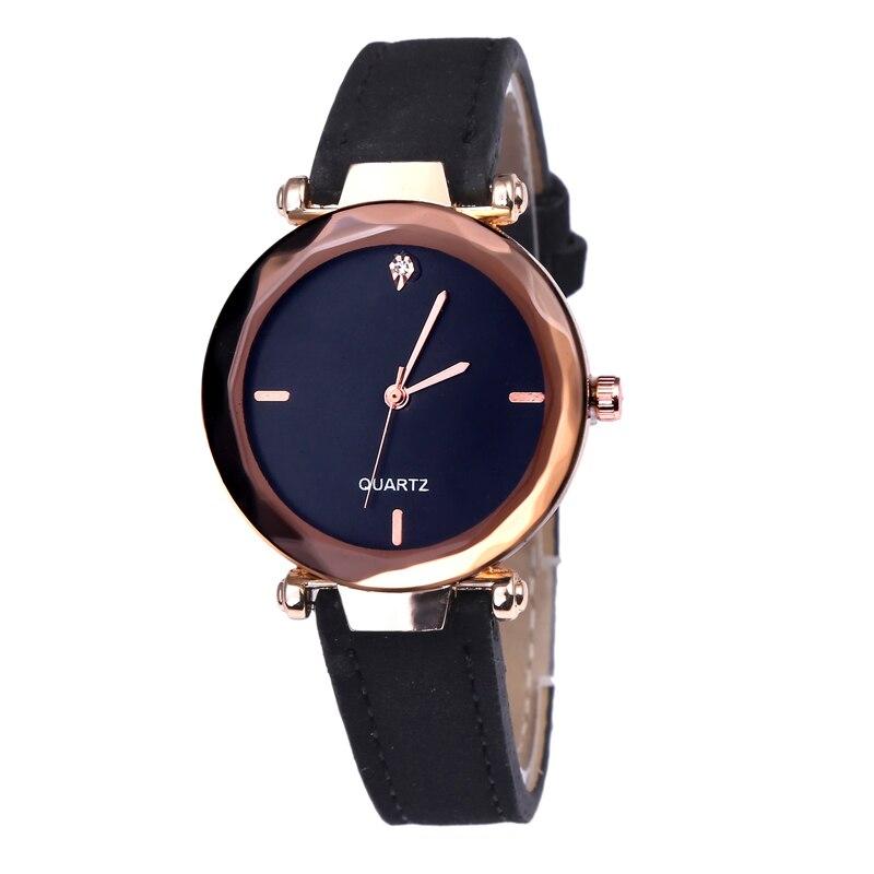 2020 Star Dial Women Watches Luxury Golden Leather Ladies Watch Women Dress Clock Calendar Relogio Feminino Erkek Kol Saati