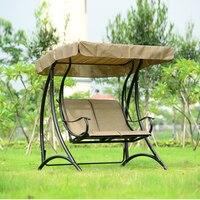 2 человека патио садовые качели открытый гамак висит стул скамья с навесом
