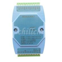 0 20MA/4 20MA/0 5 V/0 10 V 8 modo di acquisizione analogica e 4 vie analogico di uscita modulo di acquisizione MODBUS RS485