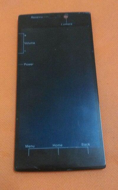 """Использовать Оригинальный ЖК-Дисплей + Сенсорный Экран Digitizer + Рамка для UMI Zero 5.0 """"IPS FHD 1920x1080 MTK6592 Octa Ядро Бесплатная доставка"""
