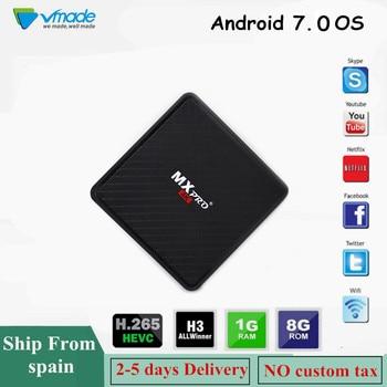 MX10 Pro Smart TV Box 4 GB + 64 GB Android 9,0 Allwinner H6 Quad Core 6 K  Set Top box 4 GB DDR3 con